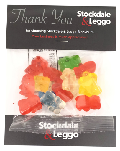 Picture of Billboard Candy Card 30g Gummi Bears