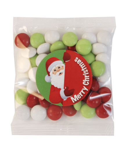 Picture of Choc Beans 50g - Christmas Mix