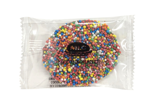 Picture of Giant Freckle Individually Wrapped with 1 colour drect print