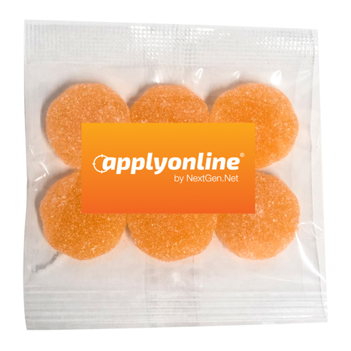 Picture of Gummy Sour Mandarines 30g