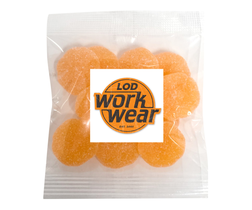Picture of Gummy Sour Mandarines 50g