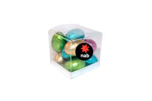 Picture of MINI SOLID EASTER EGGS IN EXTRA SMALL Cube 65g