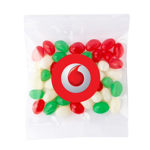 Picture of Mini Christmas Jelly Beans 50g