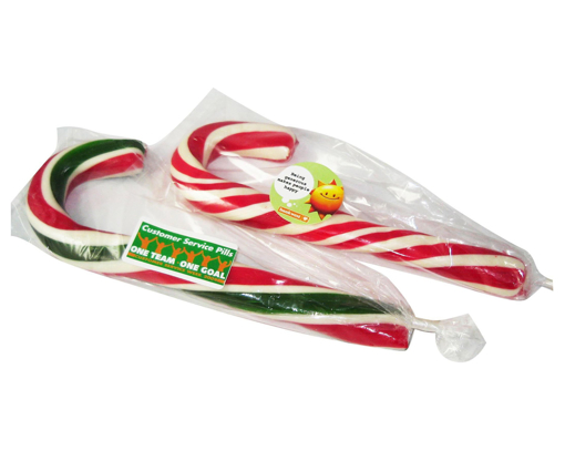 Picture of Christmas Large Handmade Xmas  Candy Canes