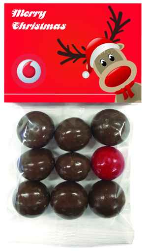 Picture of Christmas Chocolate Reindeer noses