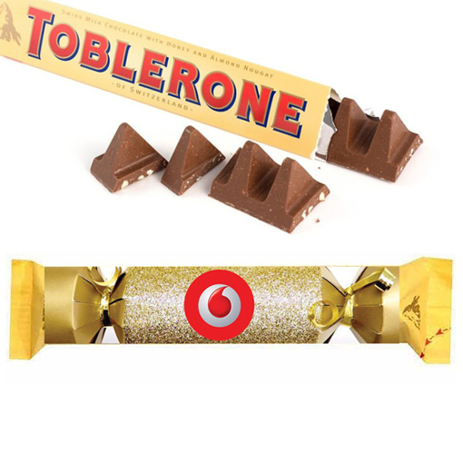 Picture of Toblerone 35g Slider With Christmas BonBon design