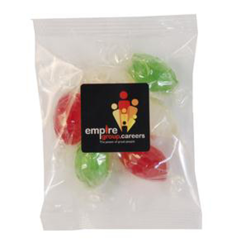 Picture of Christmas Twist Wrap in 50g Cello Bag