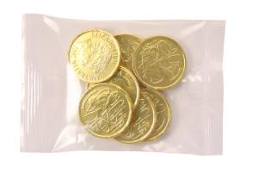 Picture of Gold Choc Coins in 30g