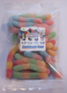 Picture of Gummy Sour Worms 100g Bag