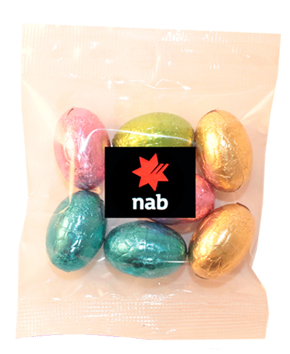Picture of Milk Chocolate egg bag 50g