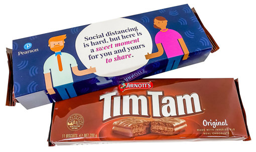 Picture of Tim Tams with custom sleeve